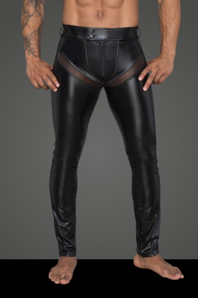 Herren Hose Rebellious Collection H059 Noir Handmade