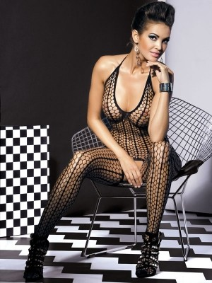 Obsessive Bodystocking G301 Dessous Catsuit in heißer Optik