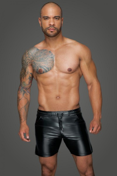 Powerwetlook Shorts H061 von Noir Handmade MissBehaved